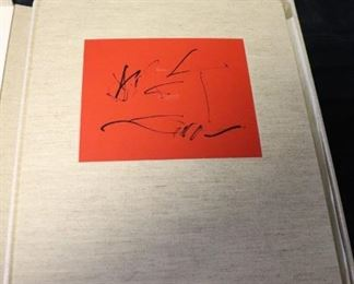 Hand Signed Oversized Etching Folios by Octavio Paz/Motherwell, Marino Marino, Death In Venice and Crime By Meras