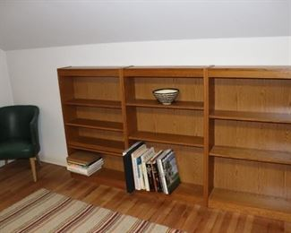 Standing Shelves and Chair