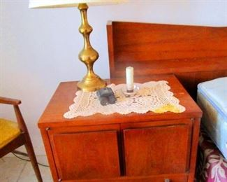 Teak Lamp End Tables