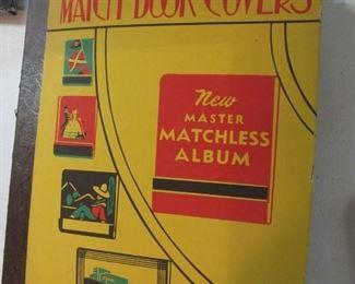 Unique match book cover album