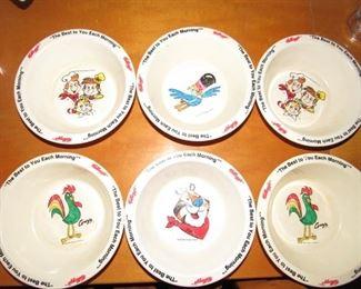 Vintage cereal bowls