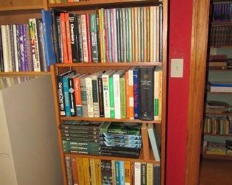 Hundreds of vintage textbooks