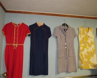 Huge selection of vintage clothes