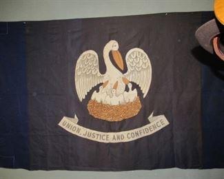 Vintage cloth LA flag