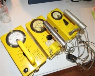 Vintage radiation detectors