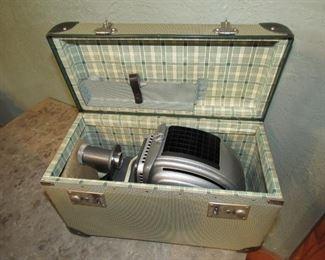 Vintage projector in pristine condition
