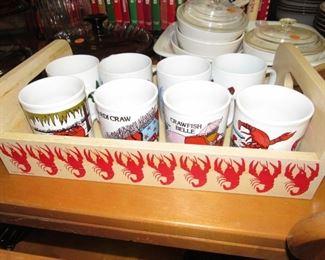 Crawfish cup set