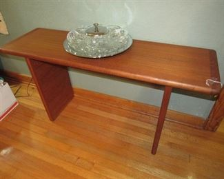 Heavy teak table