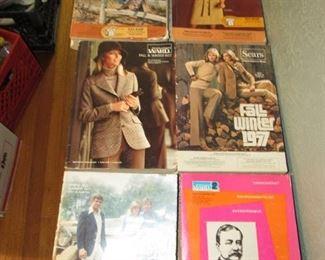 1970s Catalogs: Sears, Ward's & JC Penney