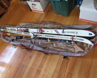 Quality snow skis