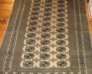 5.5' x 4.5 Persian rug