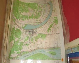 50 or more laminated contour maps
