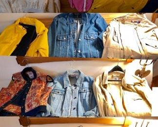* OMG So Many Cool Jackets - So Many Brands & Styles to choose from.