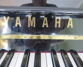 Yamaha Upright Piano Black Polish T116  Serial # 236659   $1495