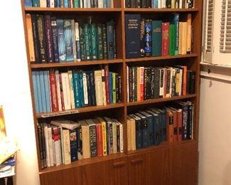 Mid-Century teak bookcase