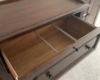 Executive File Cabinet with key lock