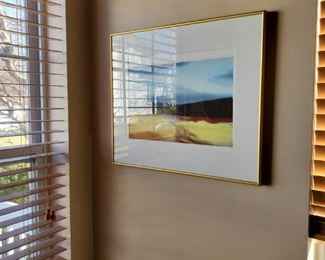 artwork throughout the home