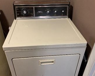 Older clothes dryer