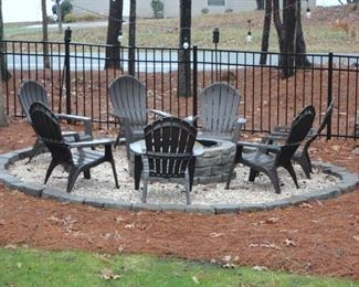 7 outdoor chairs