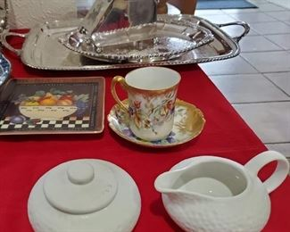 China and Silver PLATE