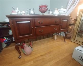 Solid Cherry Hitchcock sideboard