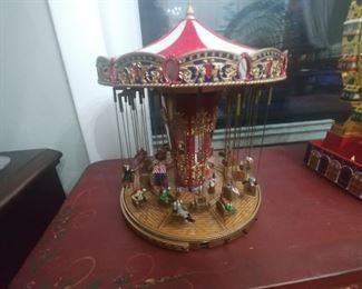 Toy carousel $25 Sold