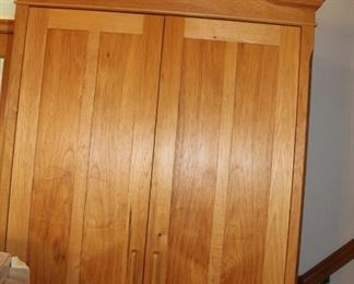 furniture pine hutch