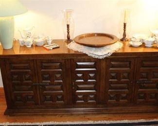 furniture spanish style buffet