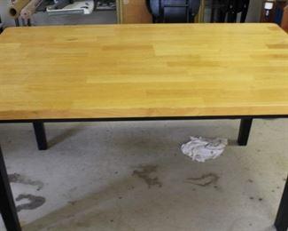 furniture table butcher block top