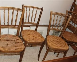 furntiure cane chairs