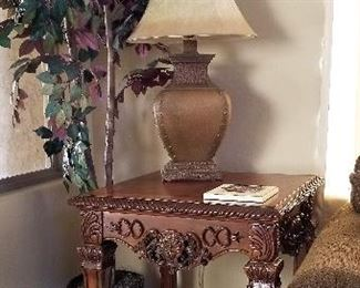 End tables great for living room or even a bedroom.