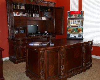 Nice Home Office furniture--really top. notch!