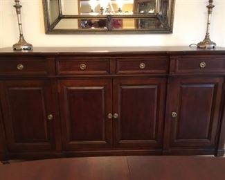 Continental Classics Large Buffet-Credenza Hickory White Furniture