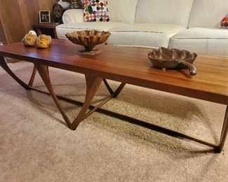 Hand-Made Quality Constructed Mahogany Coffee Table