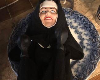 Punching Nun