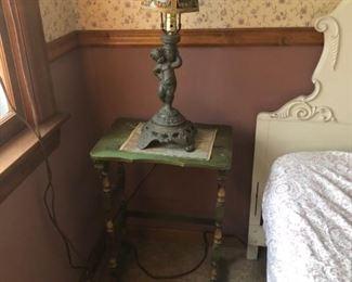 Lamp & Nesting Table
