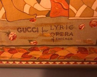 Gucci Lyric Opera Scarf