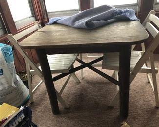 Log Leg Table