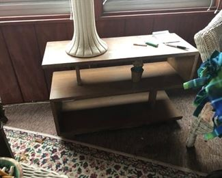 Mid Century Table One of a Pair