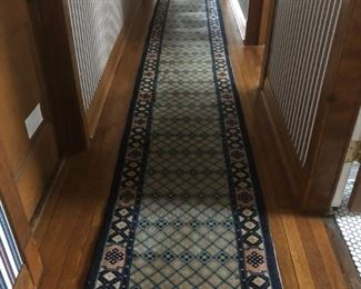 beautiful Hand Knotted runner