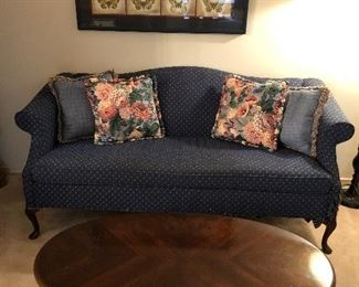 Sofa, Coffee Table, Art