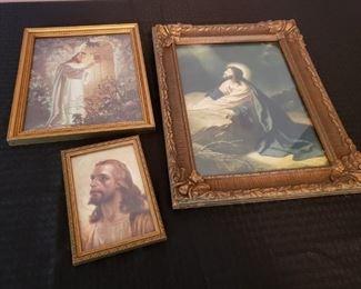 Vintage Jesus Litho Prints https://ctbids.com/#!/description/share/323927