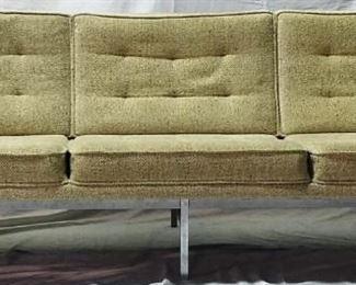 Florence Knoll Chrome framed sofa