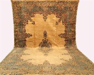 """11'9"""" x 17'8"""" Persian Kerman Rug"""