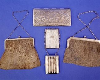 Sterling Mesh Bags & Cases