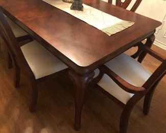 Dining Table & Chairs are in Excellent Condition - no scratches