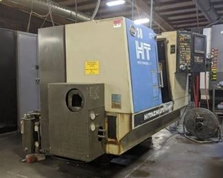 Hitachi Seiki USA Super Productive Turning Cell HT Hitec-Turn20SII Parts Only, Not In Working Condition