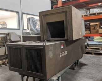 Smog-Head Industrial Air Cleaner Model SH-20-P-H-Tandem