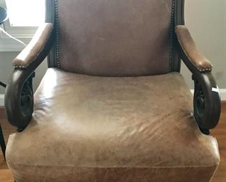 One of a pair of chairs, priced separately