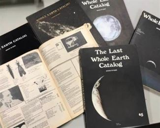 046hCollection of Whole Earth Catalogs